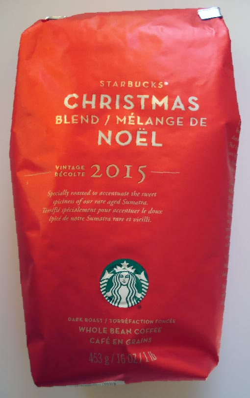 REVIEW: Starbucks Christmas Blend 2015