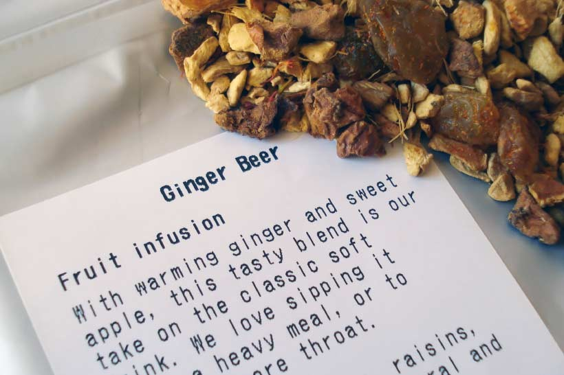ginger tea review