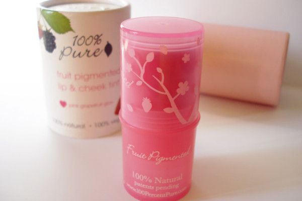 lip and cheek tint product review