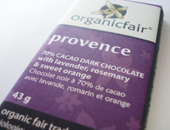 lavender chocolate product review