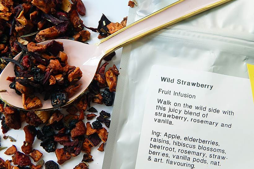 Davids Tea Wild Strawberry