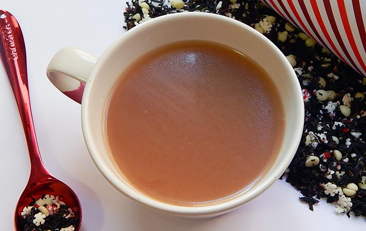 Candy Cane Crush Tea Review