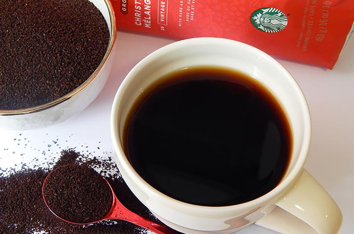 There Is A Nice Bitterness At The End Of Mouthful Starbucks Blend Drip Method 2 Tablespoons Ground Coffee